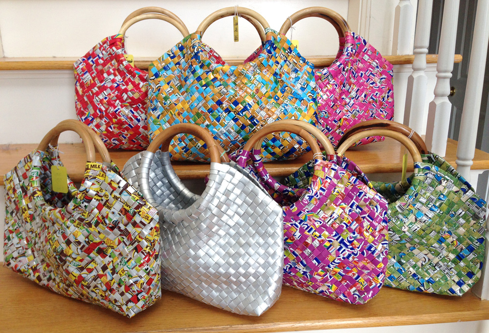 Recycled Juice Pack Bags